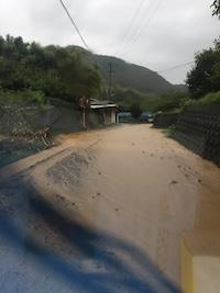 2017年7月5日の朝倉市の大雨の影響。_f0018099_21112560.jpg
