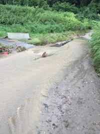2017年7月5日の朝倉市の大雨の影響。_f0018099_21121631.jpg