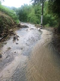 2017年7月5日の朝倉市の大雨の影響。_f0018099_21130536.jpg