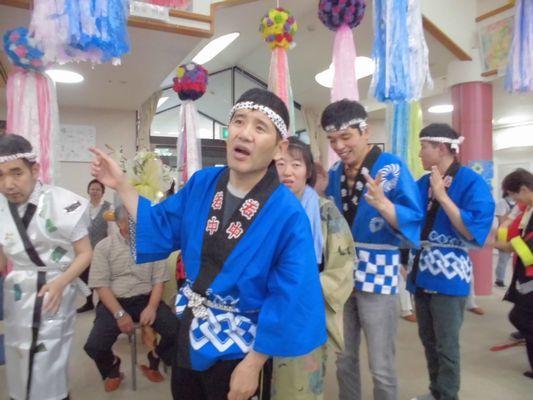 7/9 聖愛園夏祭り_a0154110_08122814.jpg