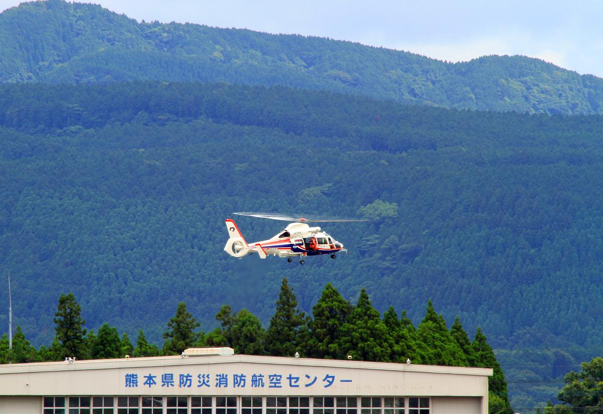 熊本県防災消防航空隊。_b0044115_6395679.jpg