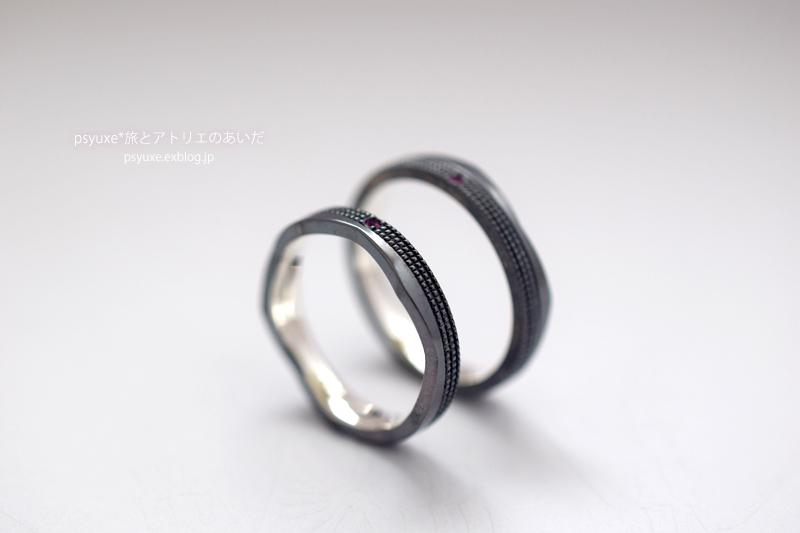 ご結婚5周年記念のペアリング 愛知県 M 様_e0131432_10392014.jpg