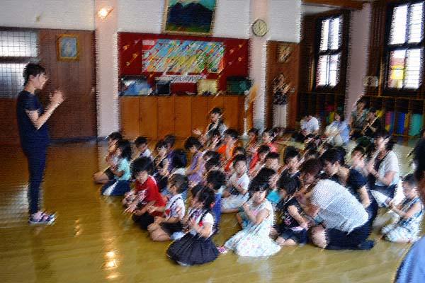 第一幼稚園、6月7月生まれのお誕生会を行いました。_d0353789_1443343.jpg