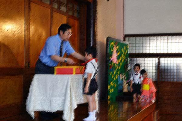 第一幼稚園、6月7月生まれのお誕生会を行いました。_d0353789_1444495.jpg