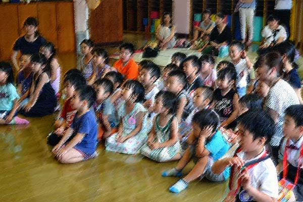 第一幼稚園、6月7月生まれのお誕生会を行いました。_d0353789_146294.jpg