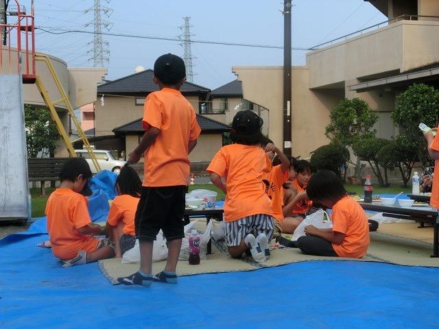 猛暑の中、ミスト扇風機が大活躍  津田・荒田島、駿河台二丁目の天王祭_f0141310_08122832.jpg