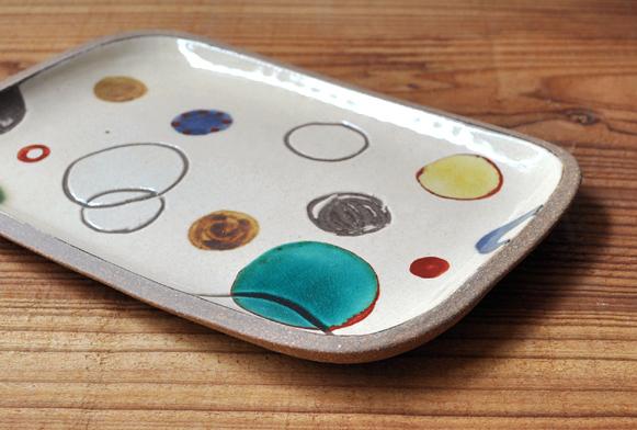 一翠窯より、角皿が色々と届いております。_d0193211_18475311.jpg