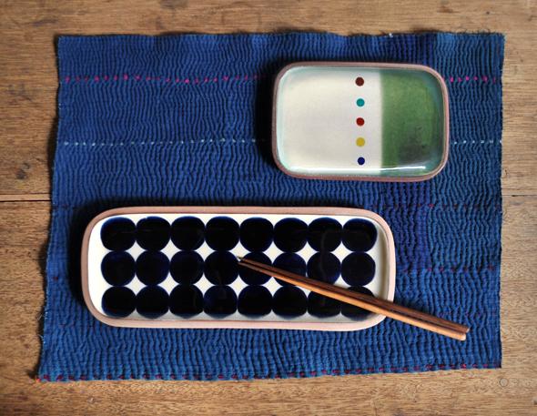 一翠窯より、角皿が色々と届いております。_d0193211_18561137.jpg