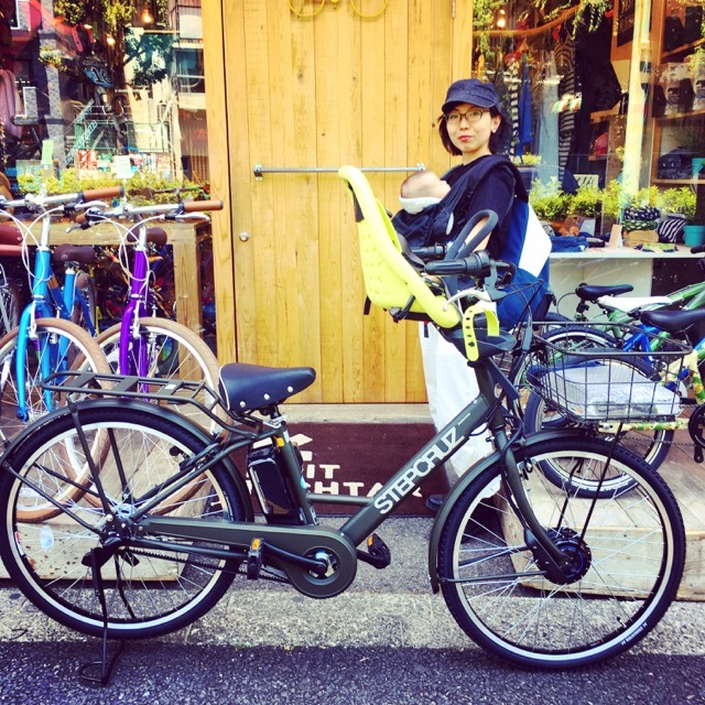 『バイシクルファミリー』bikke Yepp ビッケ GRI MOB トートBOX EZ ハイディ ステップクルーズ 電動自転車 おしゃれ自転車_b0212032_21161259.jpg