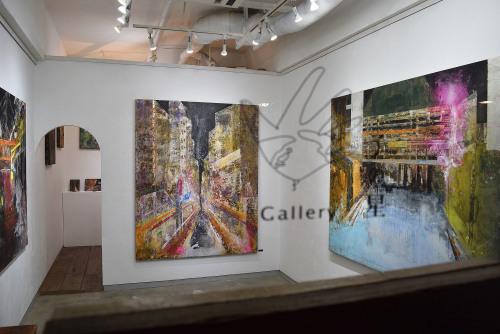加藤覚 展 Satoru Kato Exhibition @ 搬入〜1日目_e0272050_11545784.jpg