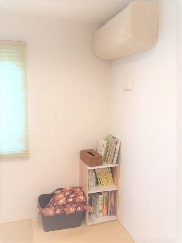 【和室スペース】息子の本が増えてきたので、スッキリ模様替えしました_a0335677_08382765.jpg
