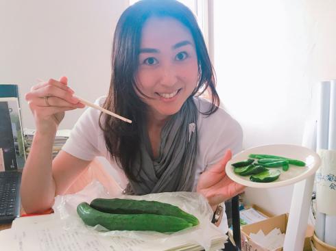 夏野菜で暑い夏を乗り切ろう〜_b0199244_16222956.jpg