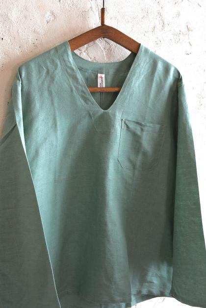 Hungary army hospital pullover shirt_f0226051_13221460.jpg