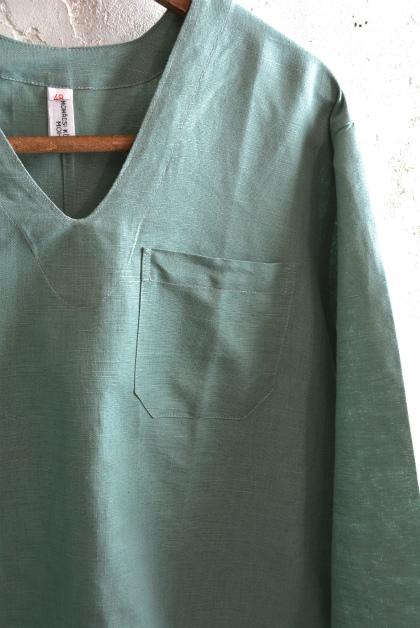 Hungary army hospital pullover shirt_f0226051_13250988.jpg