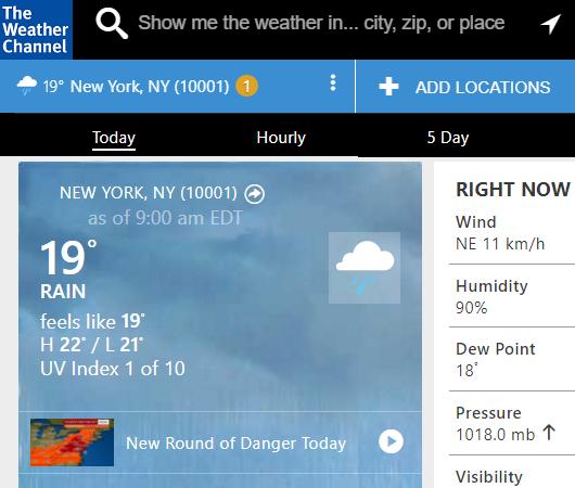 今日のニューヨークの最高気温は22℃(今は19℃)_b0007805_2352769.jpg