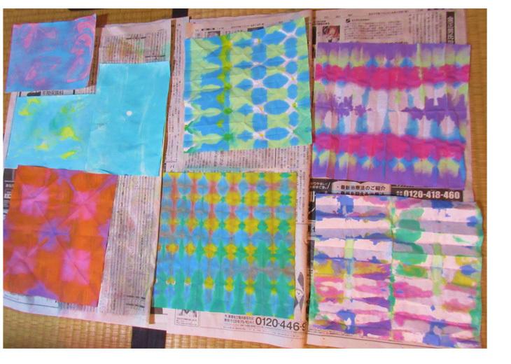 紙染め・デザイナーになってみよう・小学生クラス(比良)_f0211514_23024224.jpg