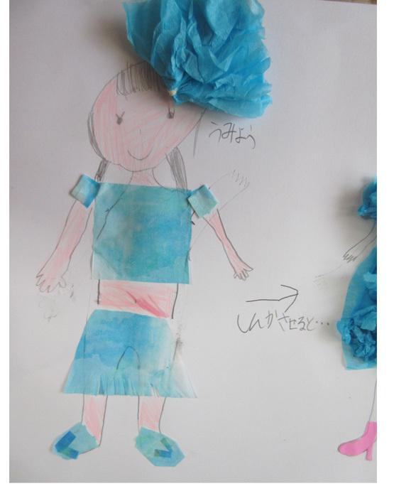 紙染め・デザイナーになってみよう・小学生クラス(比良)_f0211514_23061248.jpg