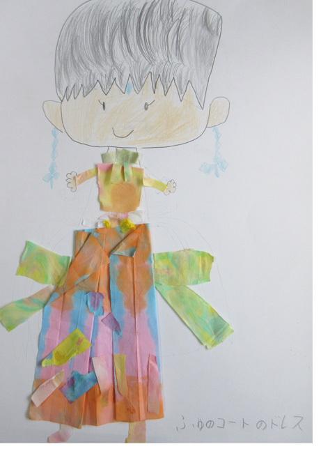 紙染め・デザイナーになってみよう・小学生クラス(比良)_f0211514_23073195.jpg