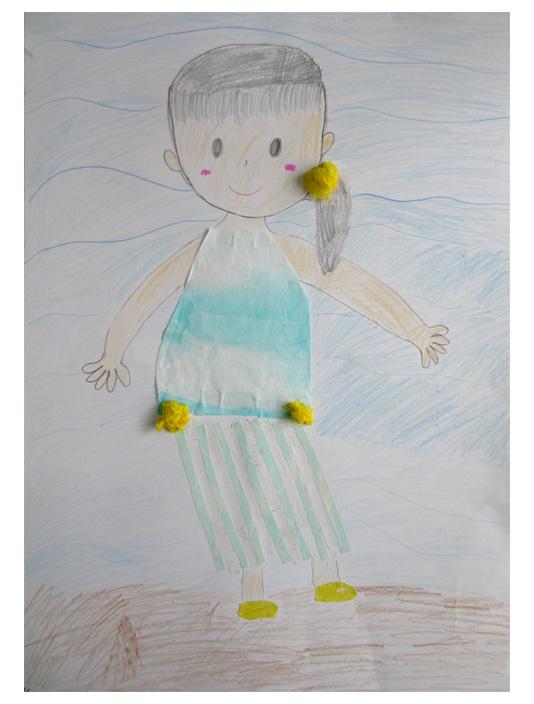 紙染め・デザイナーになってみよう・小学生クラス(比良)_f0211514_23094374.jpg