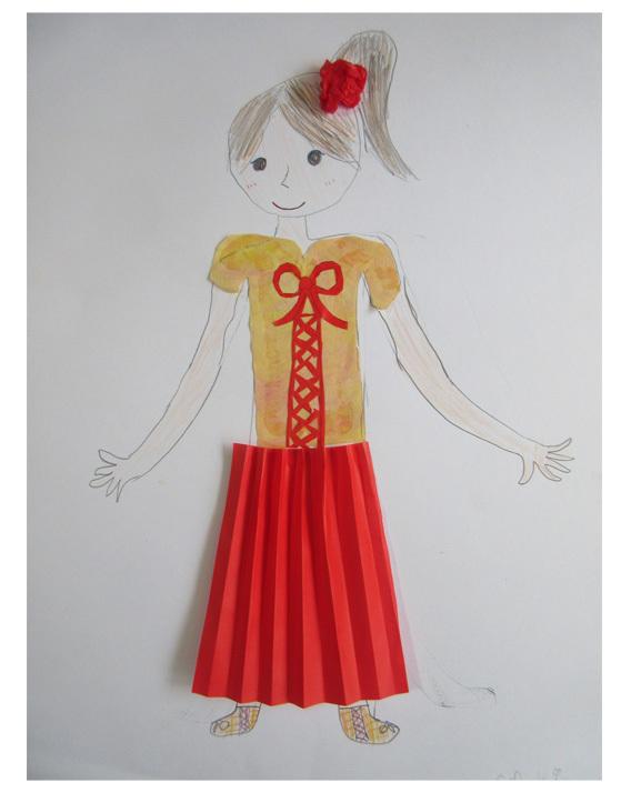 紙染め・デザイナーになってみよう・小学生クラス(比良)_f0211514_23101213.jpg
