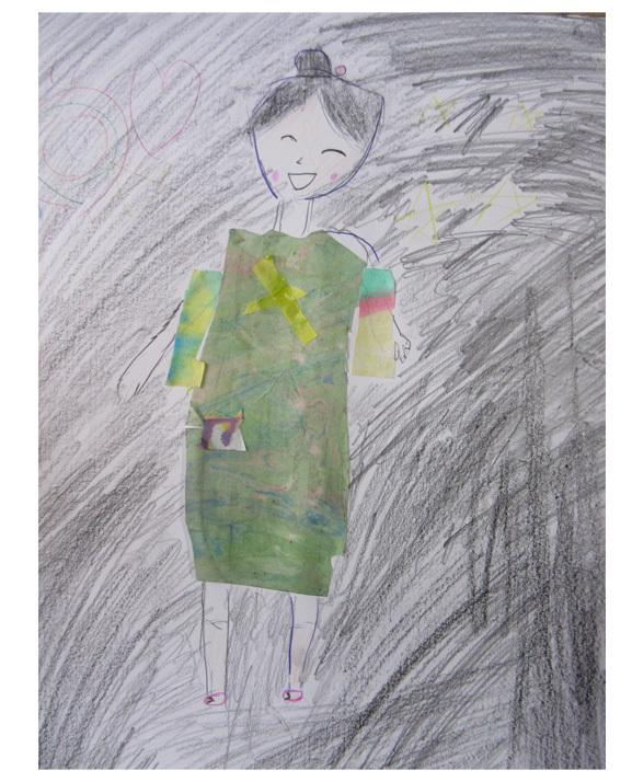 紙染め・デザイナーになってみよう・小学生クラス(比良)_f0211514_23112007.jpg
