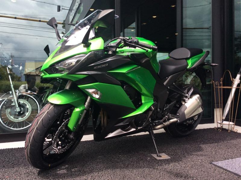 Ninja1000ABS 試乗車準備しました!  Kawasaki プラザ名古屋緑_a0169121_10130939.jpg