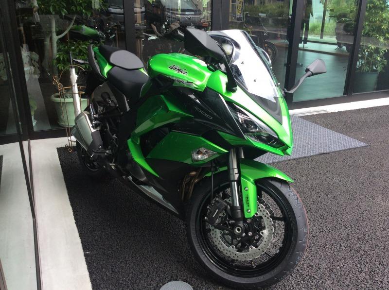 Ninja1000ABS 試乗車準備しました!  Kawasaki プラザ名古屋緑_a0169121_10133991.jpg