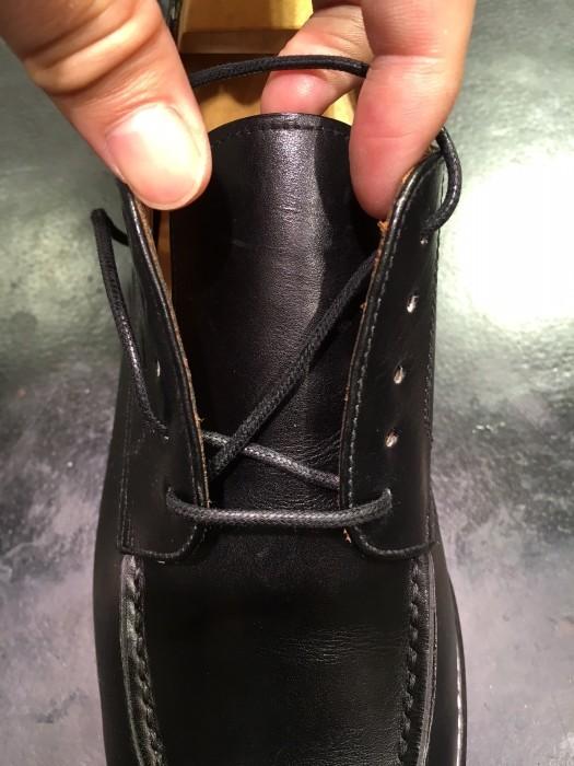 靴紐の通し方_b0226322_11311618.jpg