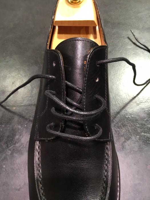 靴紐の通し方_b0226322_11311833.jpg