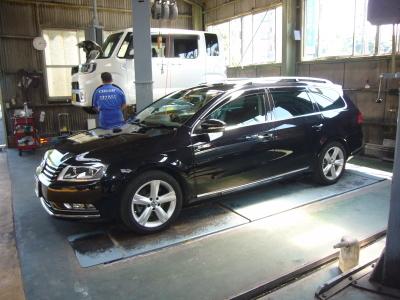 VW パサートヴァリアント (3C)警告灯点灯 修理_c0267693_14121260.jpg