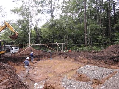 八ヶ岳の家・工事が始まる。_a0122098_14155268.jpg