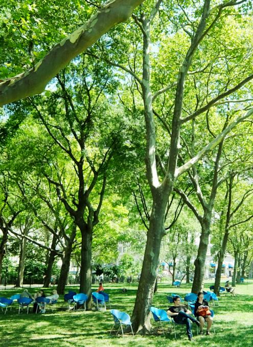 緑いっぱい夏のバッテリー・パーク_b0007805_1054870.jpg