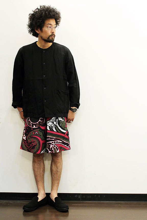 "HURRAY HURRAY (フレイ フレイ) "" JAPANESE PAISLEY EASY SHORTS \"" _b0122806_16211956.jpg"