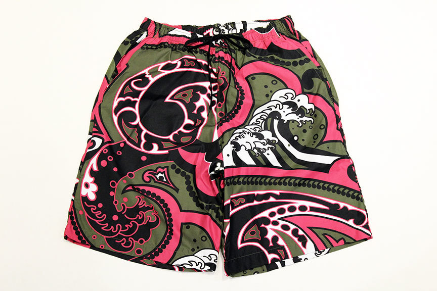 "HURRAY HURRAY (フレイ フレイ) "" JAPANESE PAISLEY EASY SHORTS \"" _b0122806_16254646.jpg"