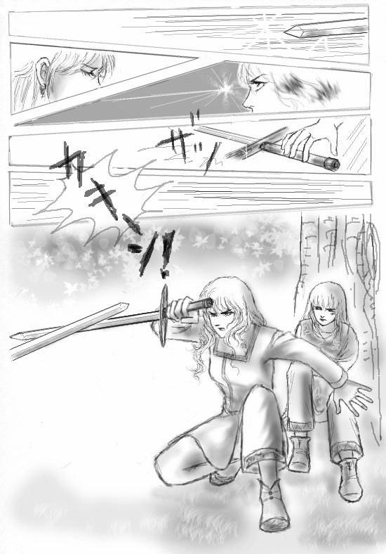 昔描いた漫画をリメイクしたのを再アップしてみた『4』_d0372513_14481022.jpg