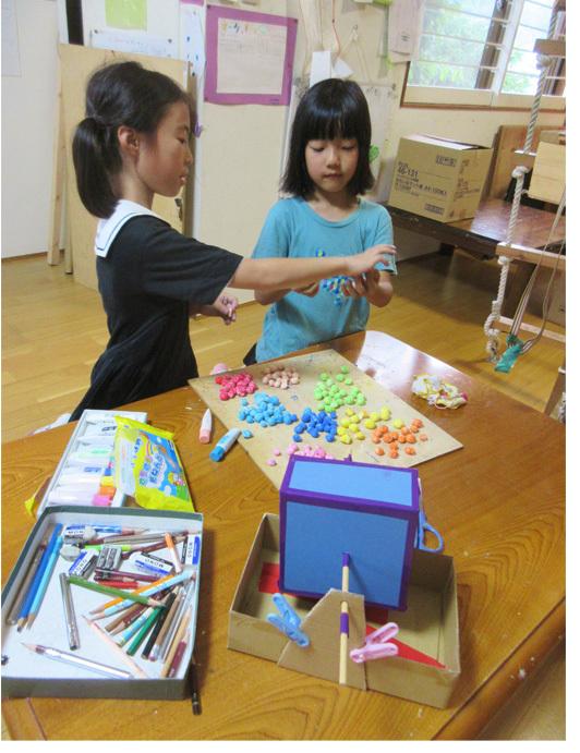 お祭り準備!・小学生クラス(上高野)_f0211514_00140435.jpg