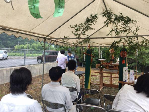 「南小倉の家」の地鎮祭でした。_e0029115_14360849.jpg