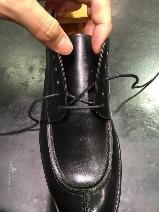 靴紐の通し方②_b0226322_10371538.jpg