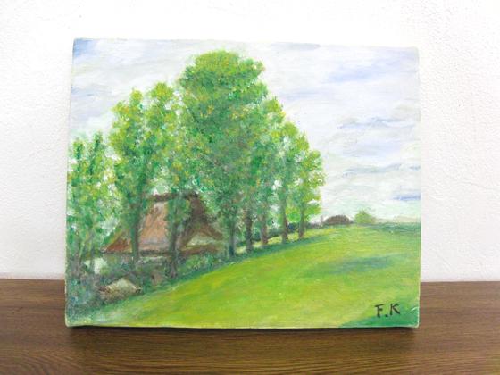 油絵 ~ 北海道の風景 ~_e0222340_1457487.jpg