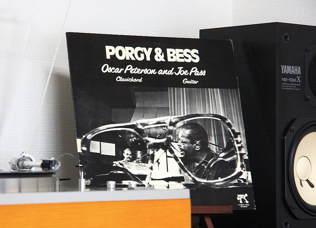 Oscar Peterson & Joe Pass / PORGY & BESS_e0220163_18241198.jpg