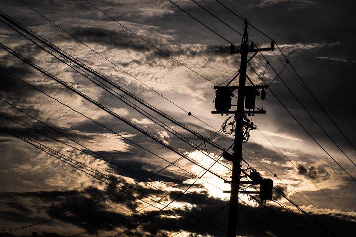 さまざまな雲が浮かぶ夕空_d0353489_2245679.jpg