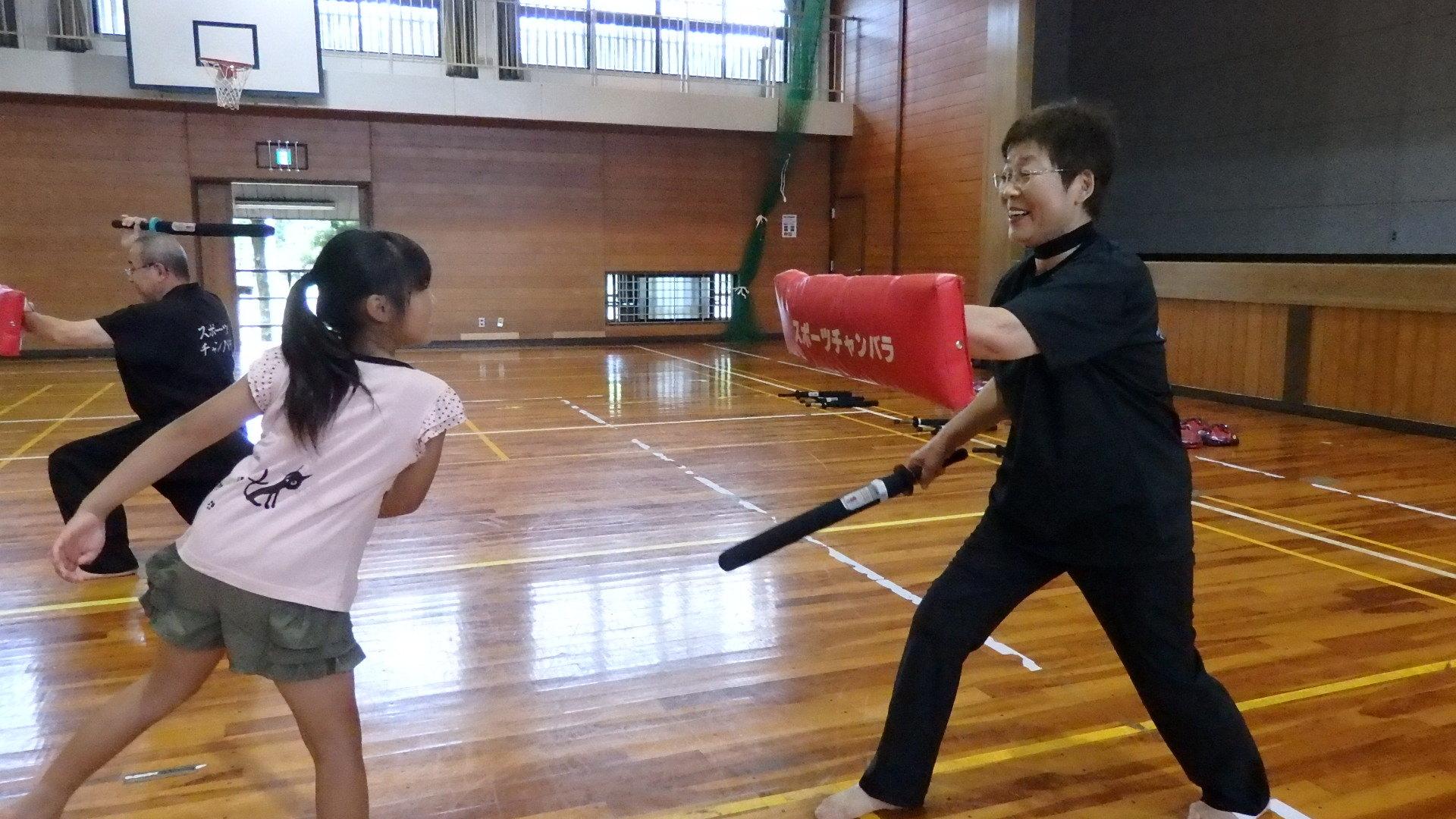 勇ましい剣士誕生!「スポーツチャンバラ + お楽しみ会」_b0239402_16574519.jpg