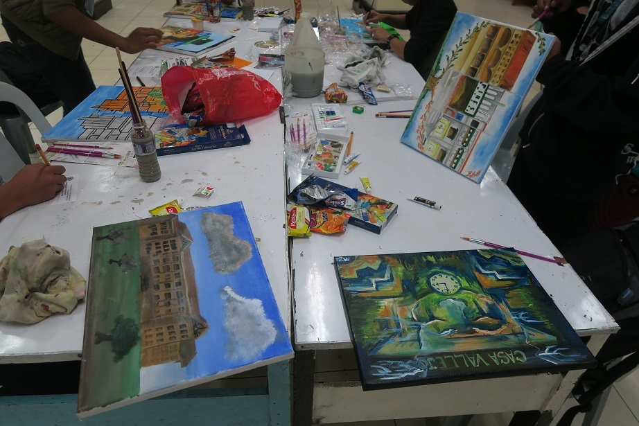 Baguio Historical/Heritage sites Paininting workshop バギオ歴史遺産絵画コンテスト_a0109542_12133564.jpg