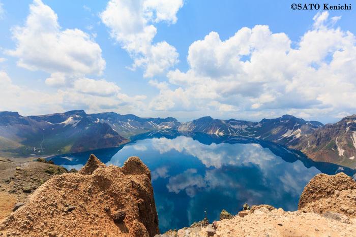 006 中朝国境にある長白山(白頭山)のカルデラ湖「天池」の絶景_b0235153_92998.jpg