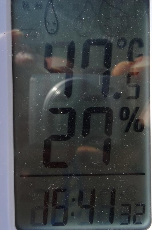 猛暑日は作業にならない・・・うみべの森_c0108460_16341759.jpg