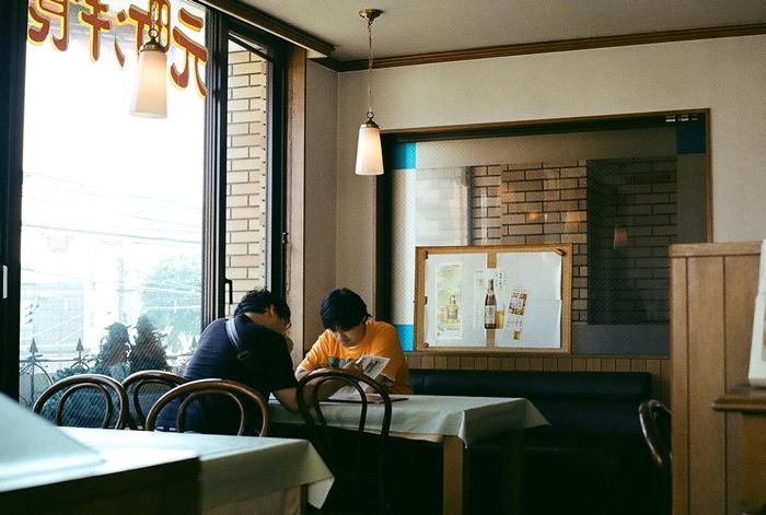 レストランローリエで Vitessa の試写_c0182775_178962.jpg