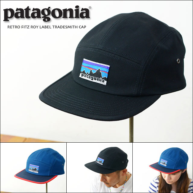 fac49259895ee patagonia  パタゴニア正規代理店  RETRO FITZ ROY LABEL TRADESMITH CAP ...