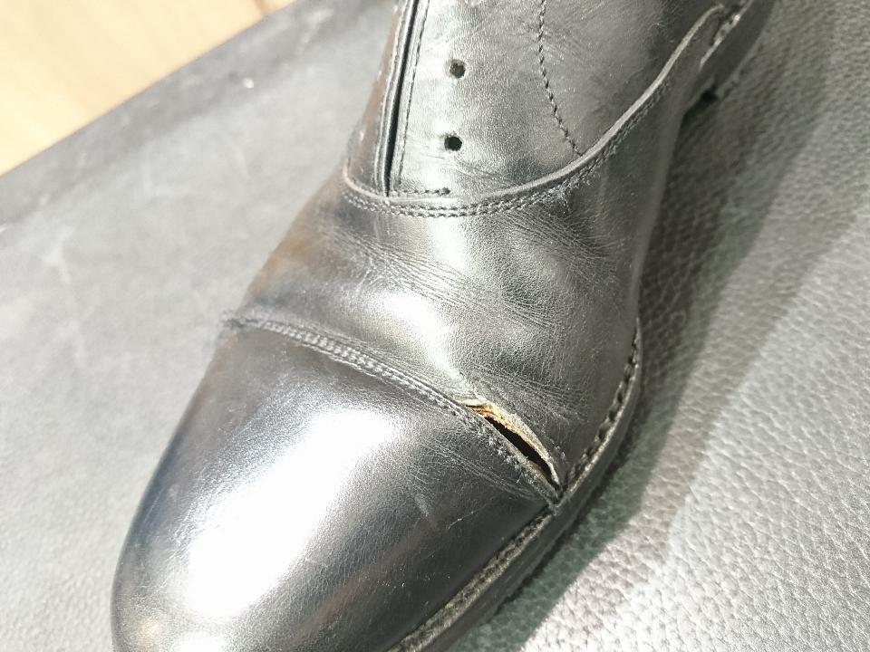 革靴のひび割れ、乾燥が原因かも・・・_b0226322_11410712.jpg
