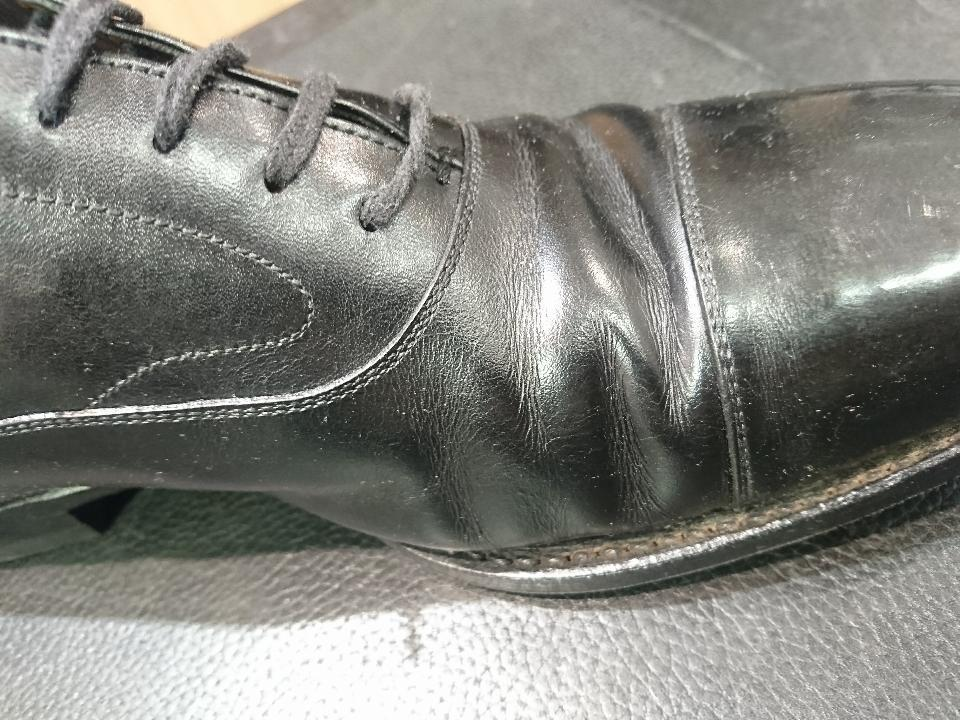 革靴のひび割れ、乾燥が原因かも・・・_b0226322_11410720.jpg