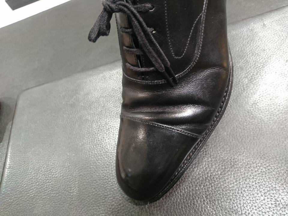 革靴のひび割れ、乾燥が原因かも・・・_b0226322_11413795.jpg